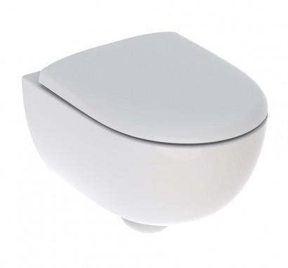 Комплект инсталляции Geberit с безободковым унитазом Geberit Renova Compact, 500.122.TC.R, белая клавиша, сиденье микролифт 3