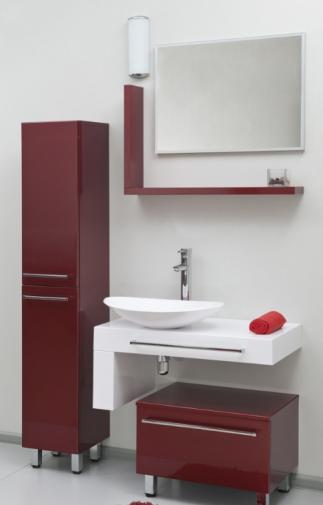 Комплект мебели для ванной Valente SEVERITA 2. без пенала, есть дефекты.