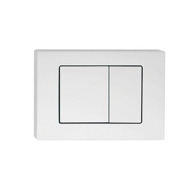 Клавиша смыва универсальная матовый белый IDDIS Unifix 032