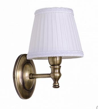 TW Bristol 039, настенная лампа светильника с овальным основанием, цвет: бронза,абажур на выбор