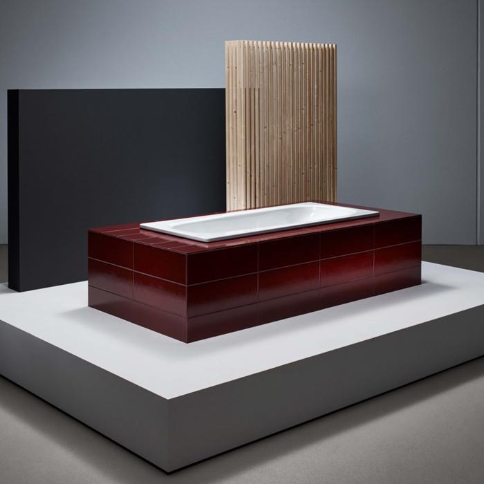 BETTE Form Ванна с шумоизоляцией  BetteGlasur® Plus,