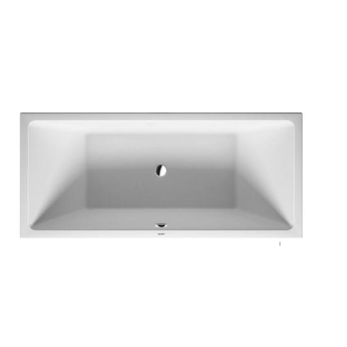 Duravit Vero Air Ванна 1900x900мм, встраиваемая , с 2 наклонами для спины, Цвет белый