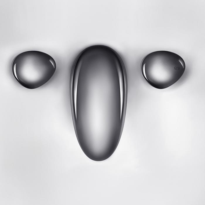Gessi Equilibrio Смеситель для раковины дизайнерский, на 3 отверстия, цвет: хром