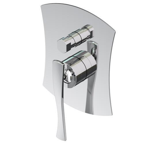 Gattoni Icarus Встраиваемый смеситель для ванны/душа на 2 выхода с автоматическим переключателем в комплекте с внутренней частью