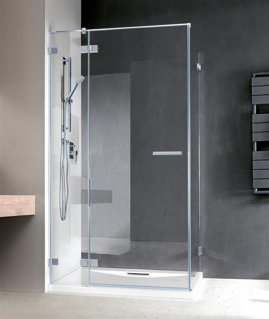 Душевая дверь Radaway Euphoria KDJ 110 левая ,  фурнитура хром , стекло прозрачное