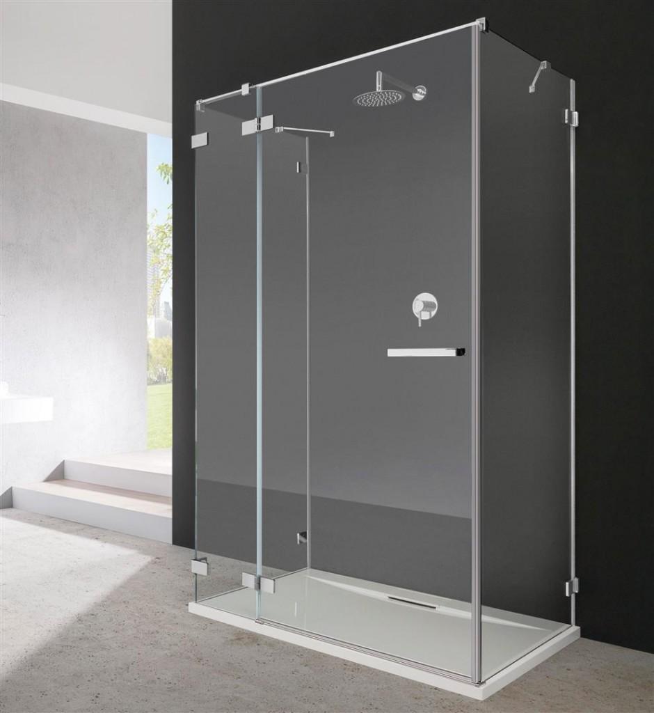 Боковая стенка для душевого уголка Radaway Euphoria KDJ S1 75x200 профиль хром, стекло прозрачное