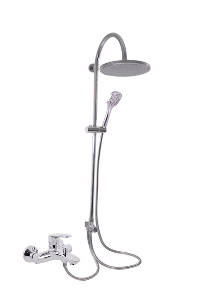 Смеситель RAV Slezаk AMUR комплект для душа и ванны с керамическим переключателем, штанга 1000мм, душ.лейка пласт. 23см