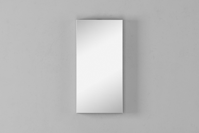 Зеркало-шкаф Unit 47, выс. 95, белый матовый