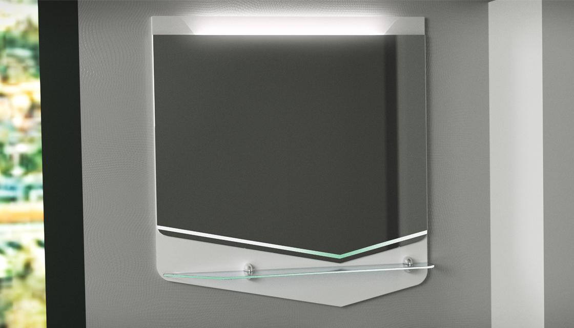 Зеркало Cub 70 Белый