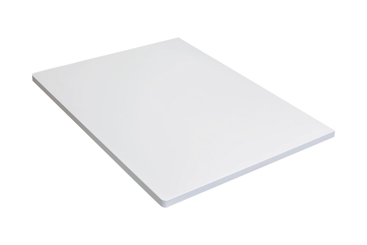 Столешница Klaufs 70 без отверстий, МДФ, белая