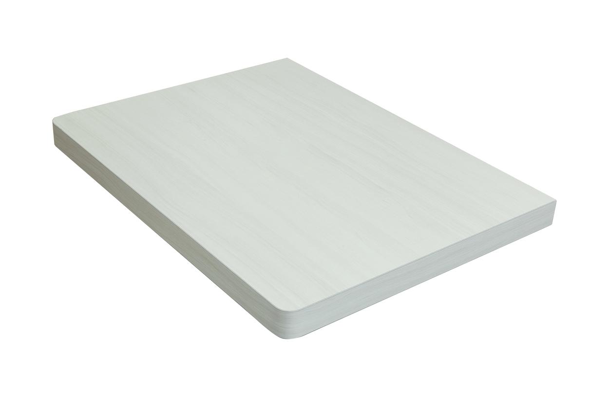Столешница Klaufs 90 без отверстий, Invisible Line, кипарис белый