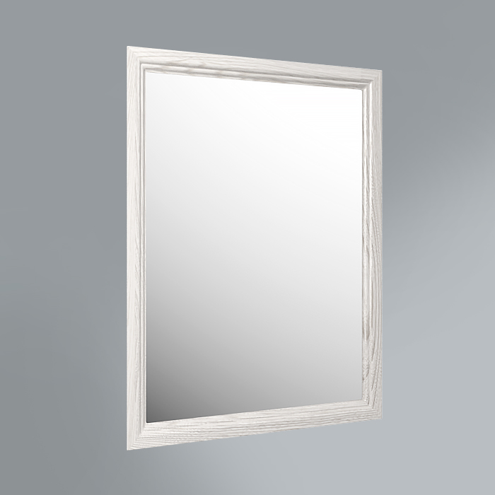 панель с зеркалом Provence, 60 см белый