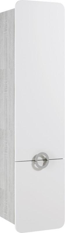Аликанте пенал подвесной левый, цвет дуб седой, Alic.05.04/L/Gray,