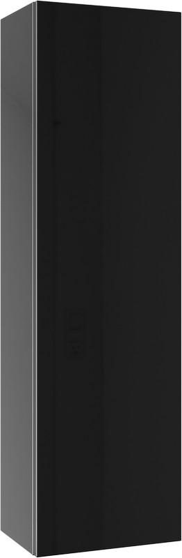 Анкона пенал подвесной, цвет черный  An.05.35/BLK,
