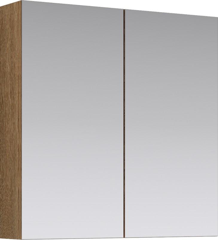 МС шкаф-зеркало, цвет дуб сонома, МС.04.07/DS
