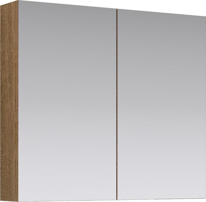 МС шкаф-зеркало, цвет дуб сонома, МС.04.08/DS