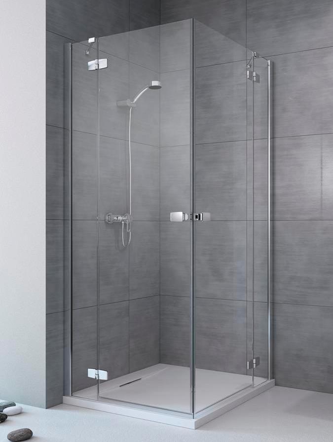 Душевая дверь для душевого уголка Radaway Fuenta New KDD 100 левая , профиль хром , стекло прозрачное