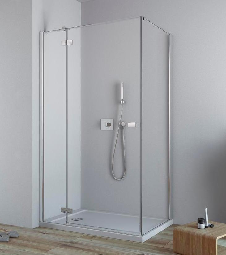 Дверь для душевого уголка Radaway Fuenta New KDJ 100 левая , профиль хром , стекло прозрачное