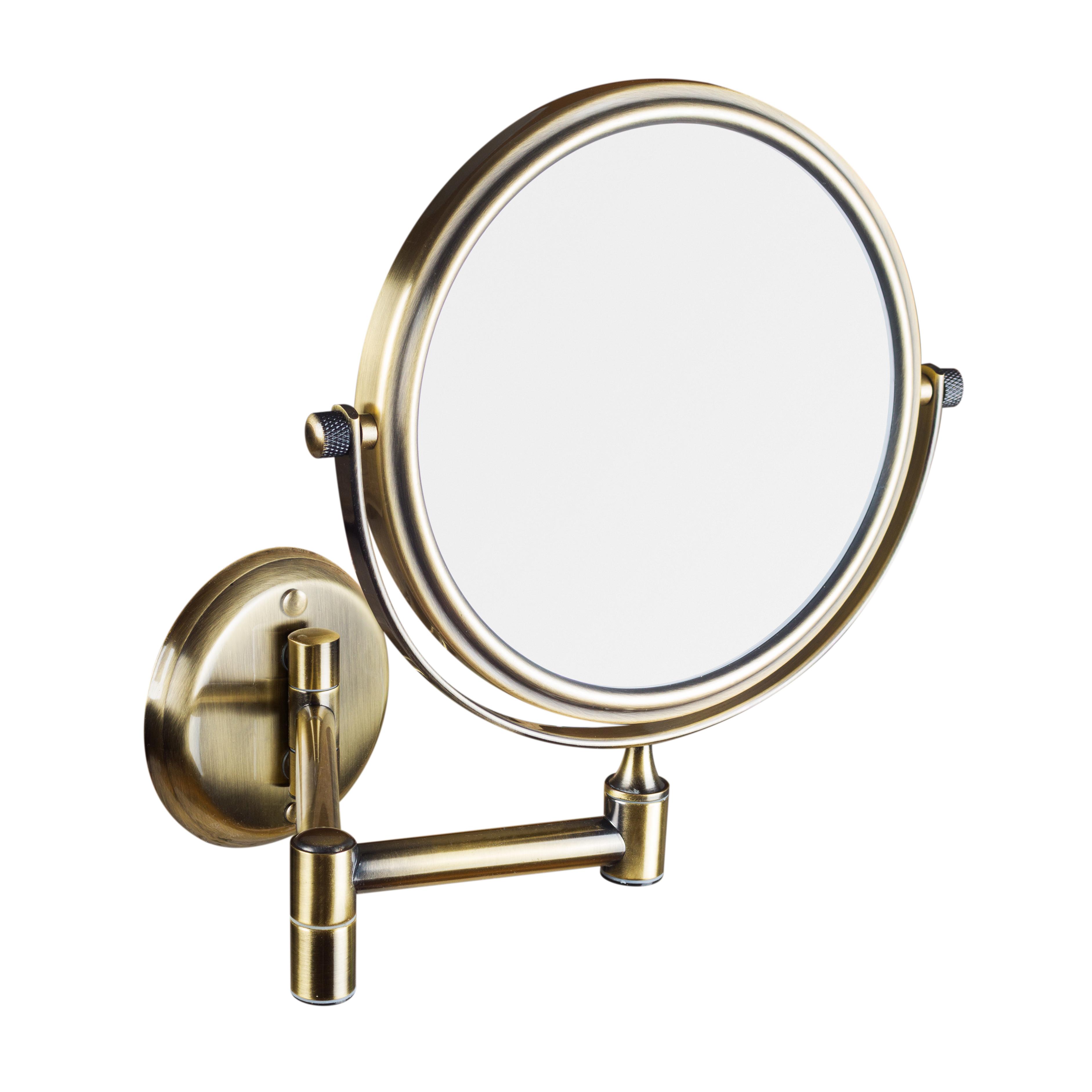 Косметическое зеркало, бронза