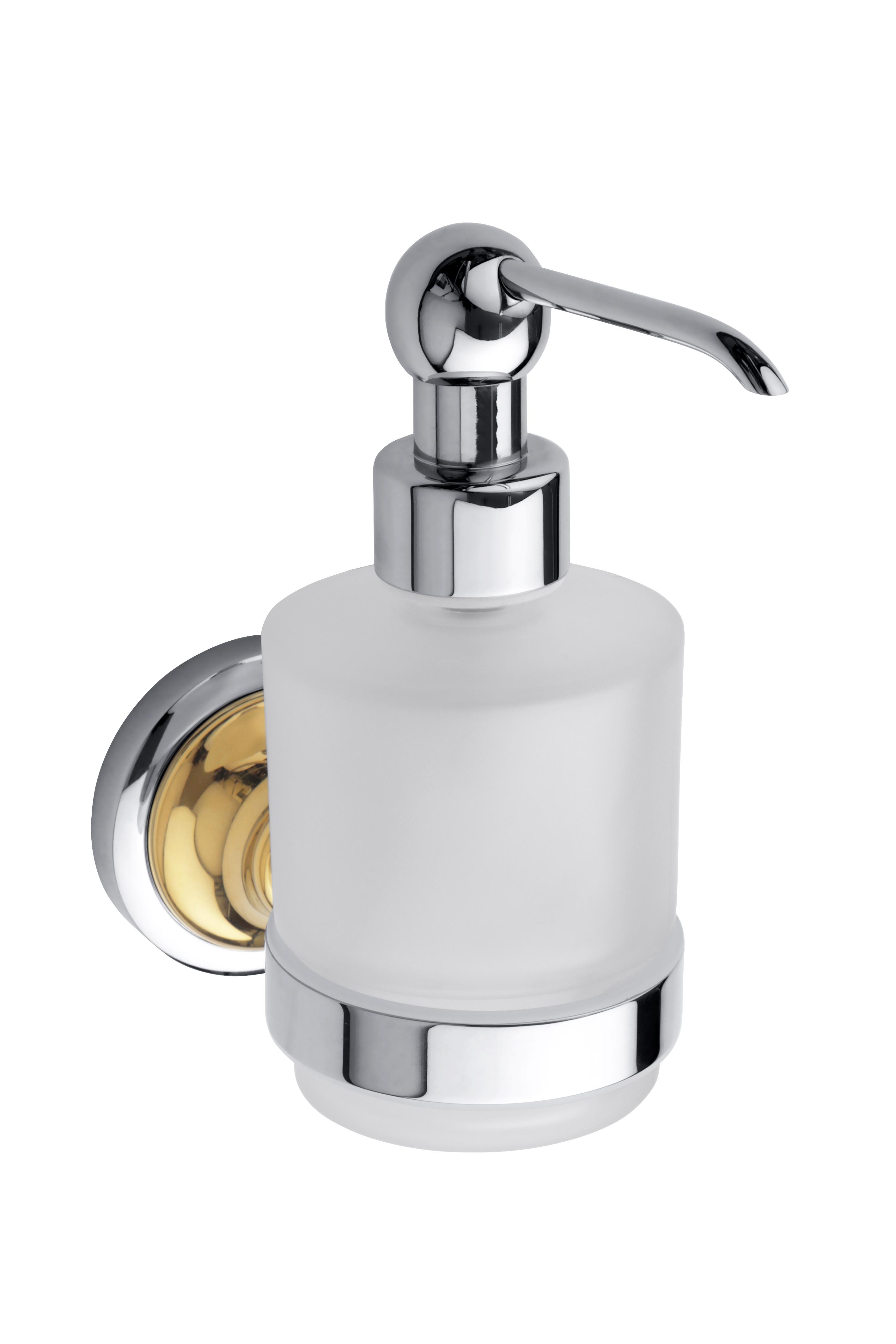 Настенный дозатор для жидкого мыла (стекло) вариант MINI