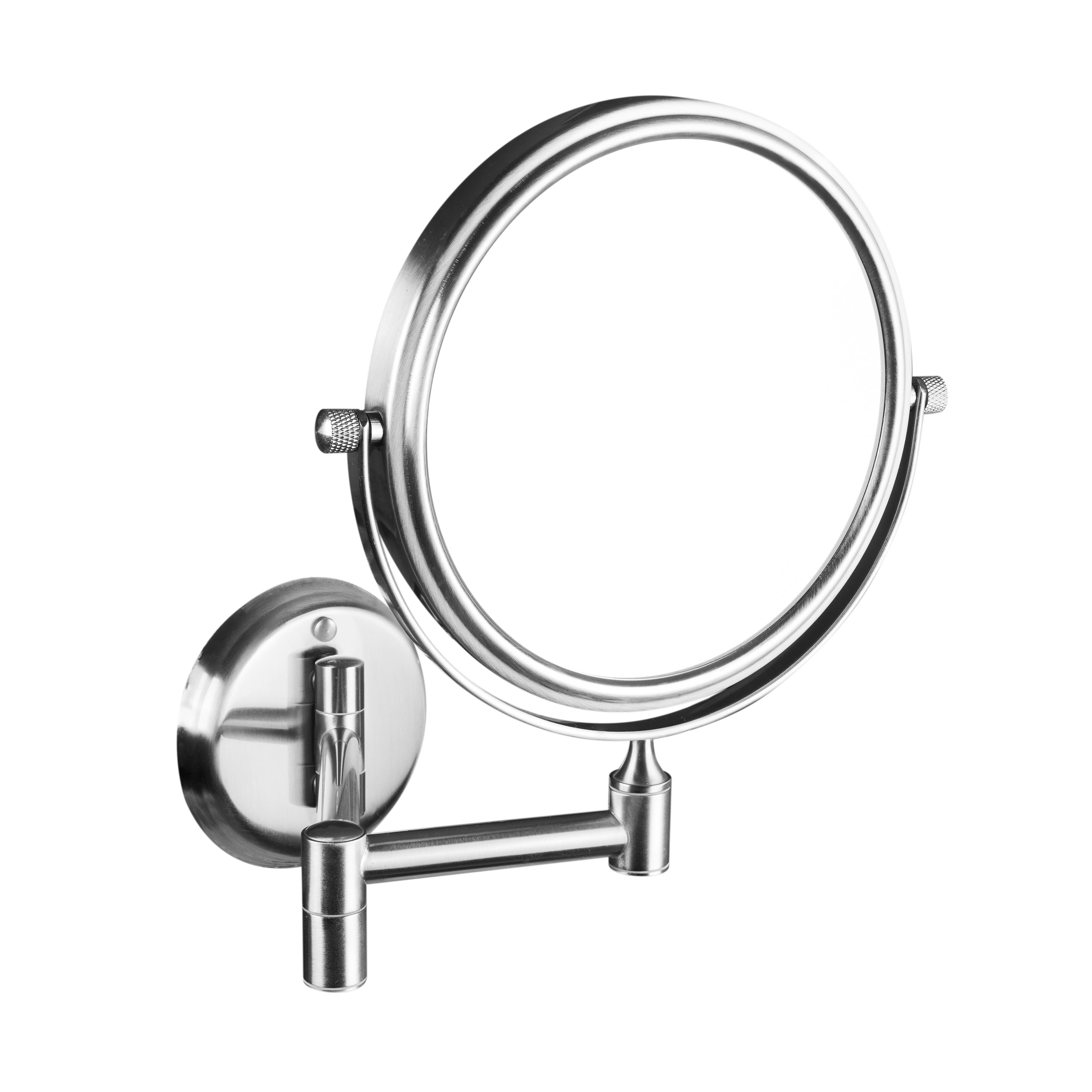 Косметическое зеркало без подсветки, мат