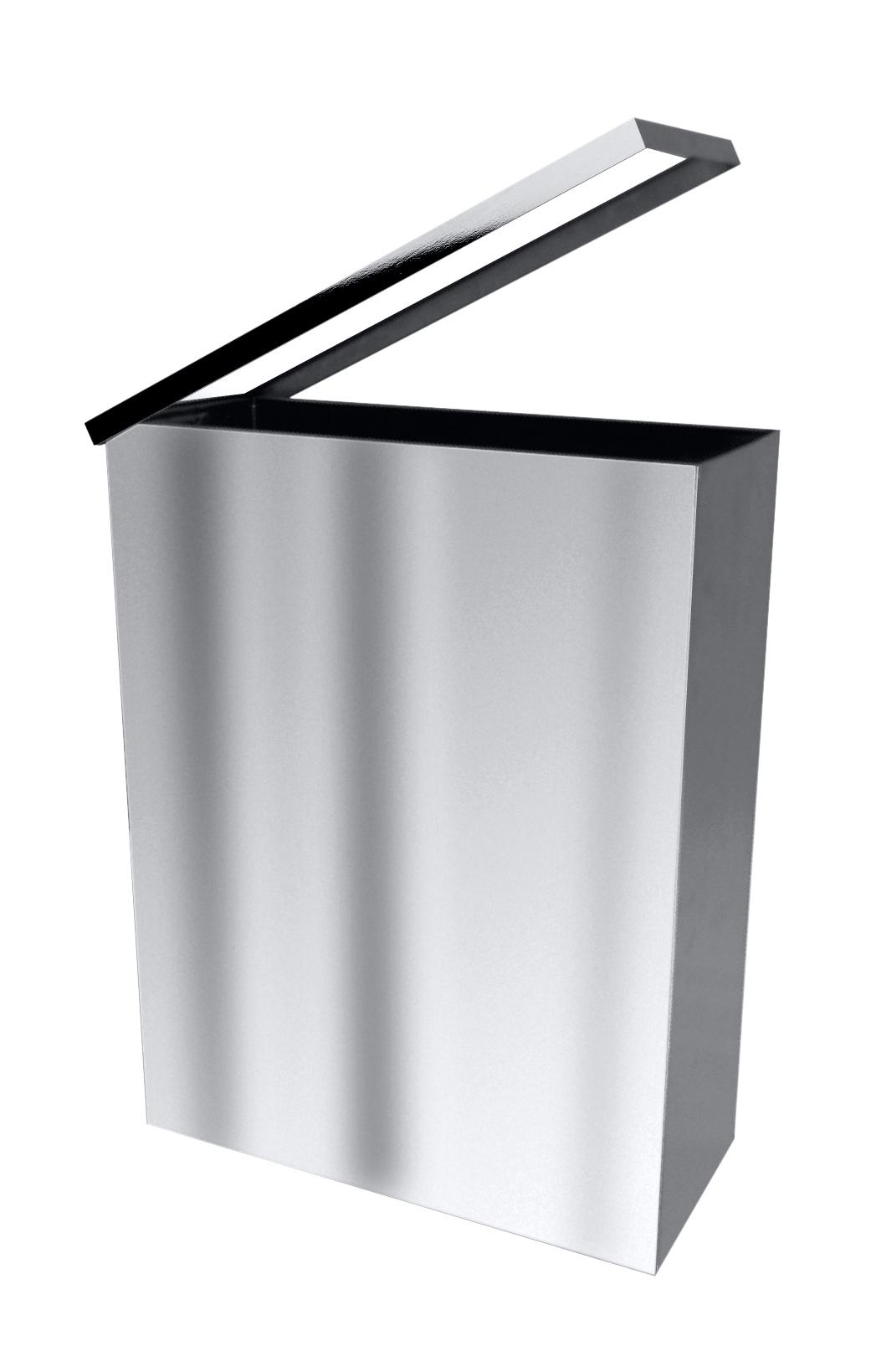 Квадратная мусорная корзина 25 л