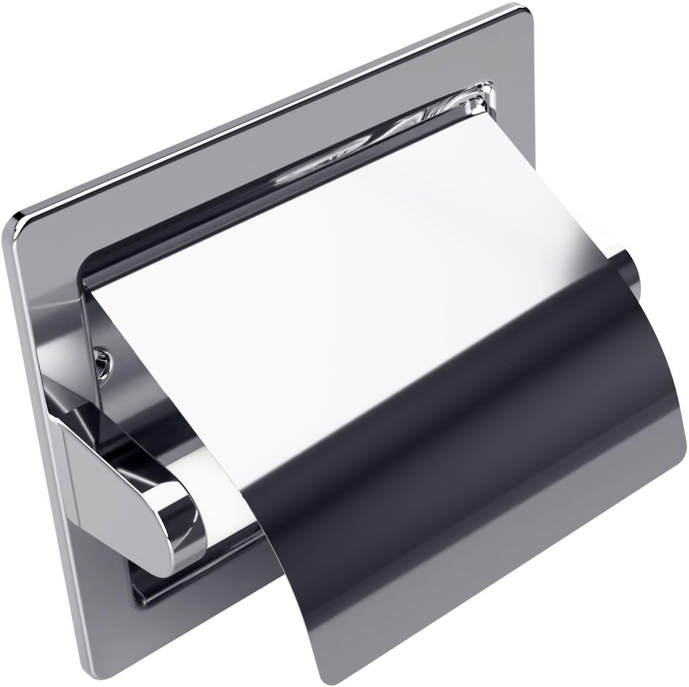 Встроенный держатель туалетной бумаги