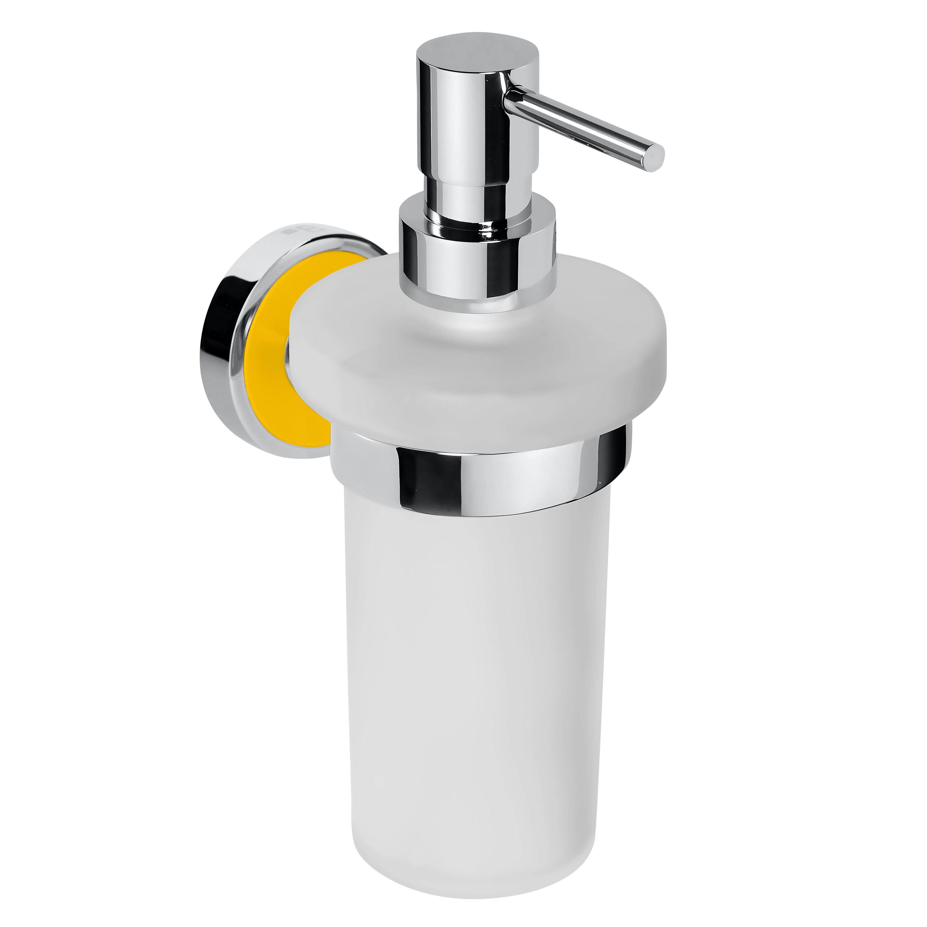 Настенный дозатор для жидкого мыла (стекло)