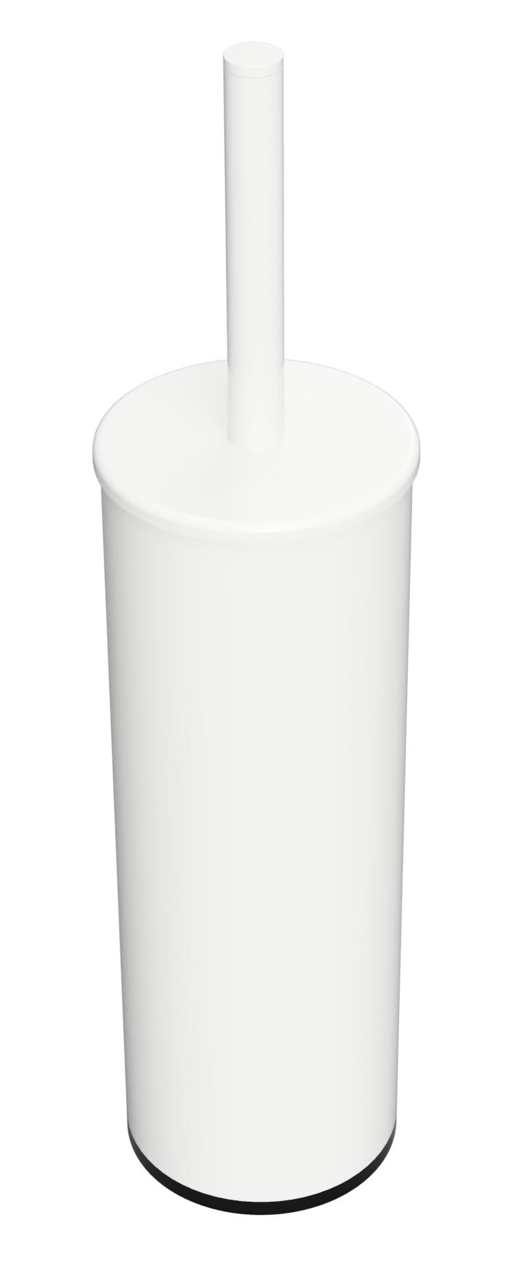 Ёршик металл подвесной/напольный, щётка белая