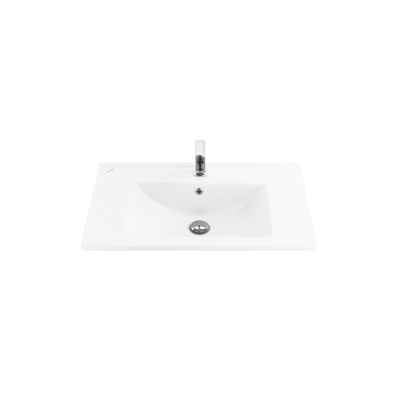 Комплект CREAVIT Раковина SU075 мебельная (45*75см)