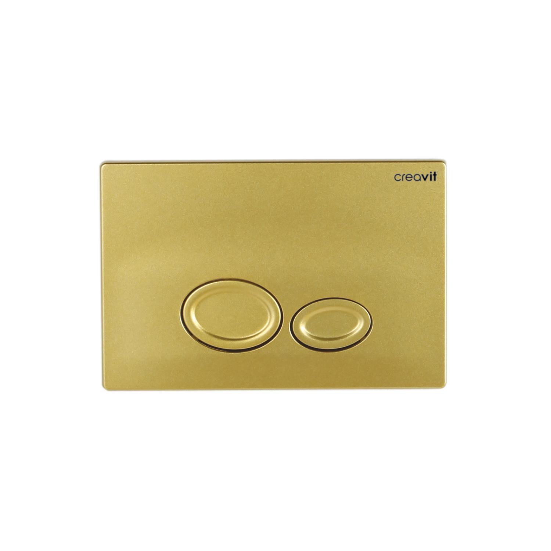 CREAVIT Кнопка для инсталляции DROP золото