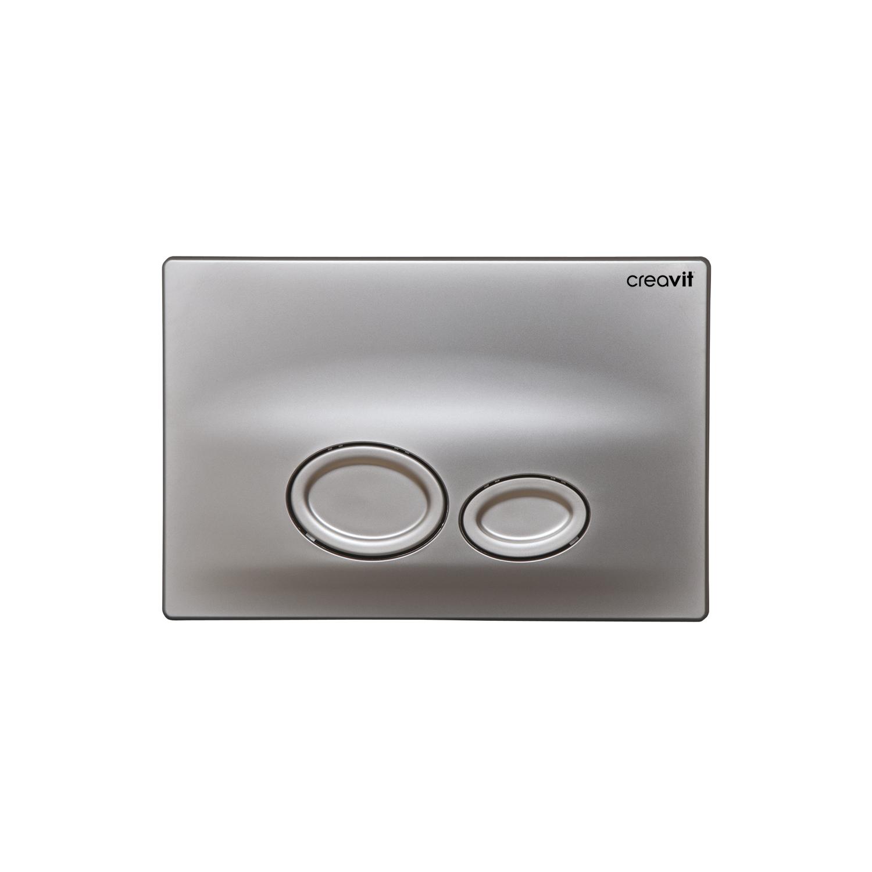 CREAVIT Кнопка для инсталляции DROP матовая хром