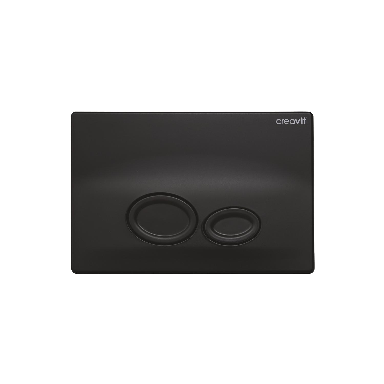CREAVIT Кнопка для инсталляции DROP черная матовая