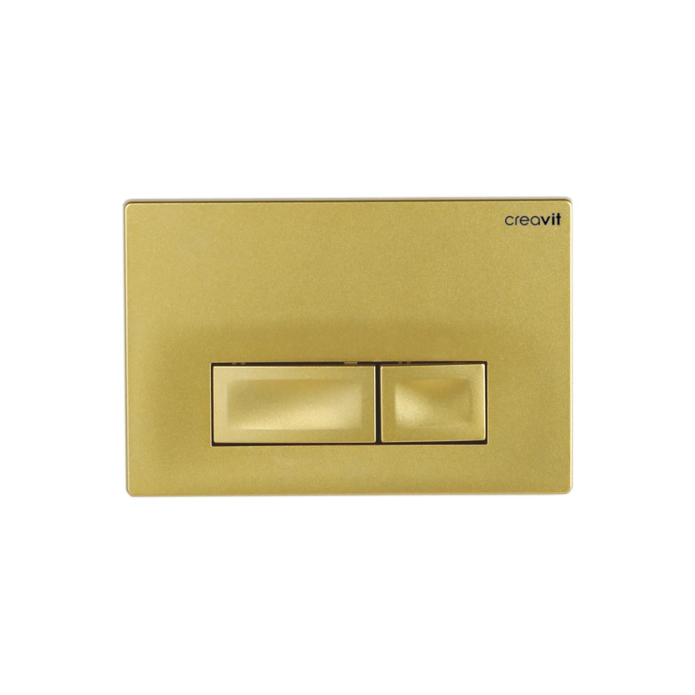 CREAVIT Кнопка для инсталляции ORE золото матовая