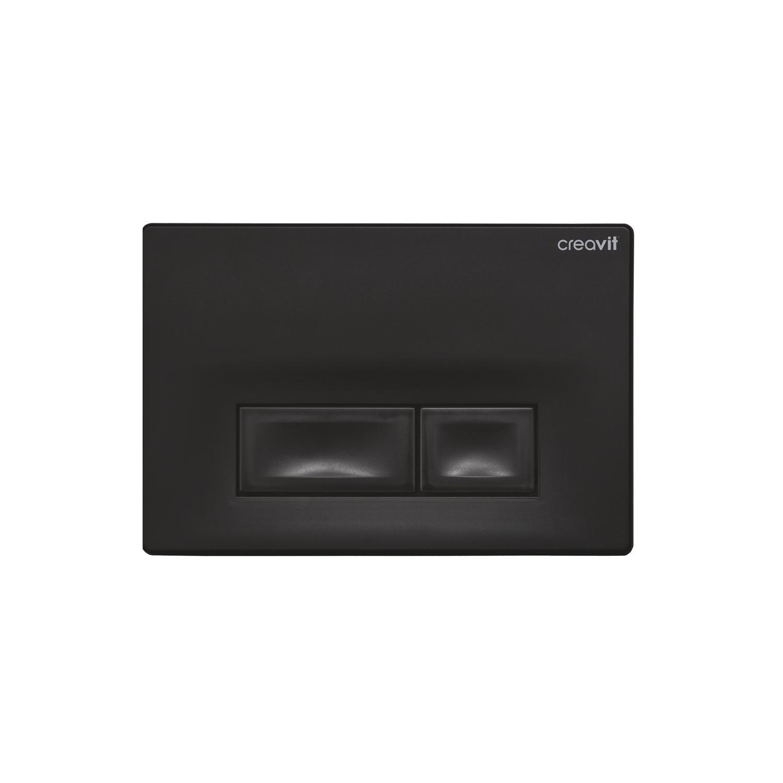 CREAVIT Кнопка для инсталляции ORE черная матовая