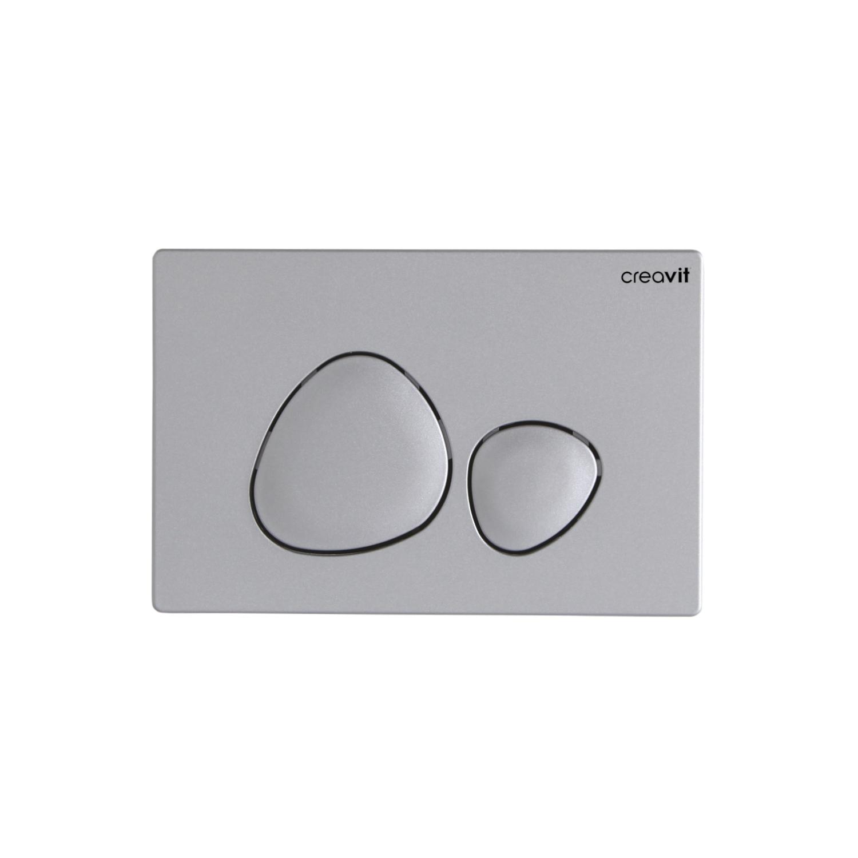 CREAVIT Кнопка для инсталляции SPA матовая серая