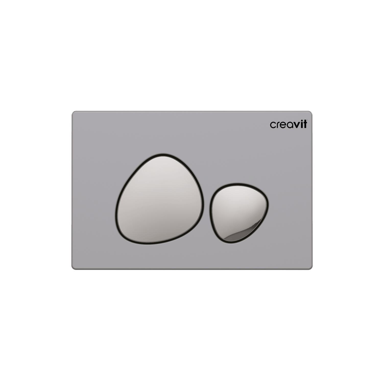 CREAVIT Кнопка для инсталляции SPA матовая хром