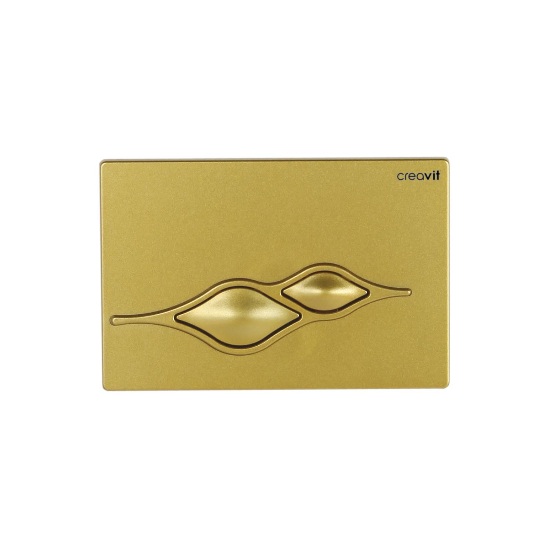 CREAVIT Кнопка для инсталляции UFO золото матовая