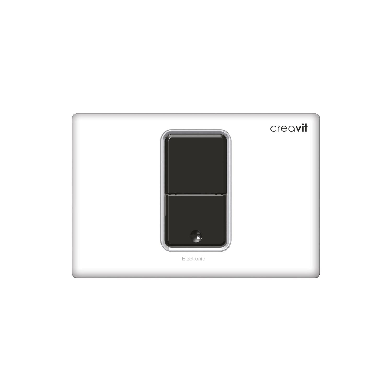 CREAVIT Кнопка для инсталляции сенсорная белая