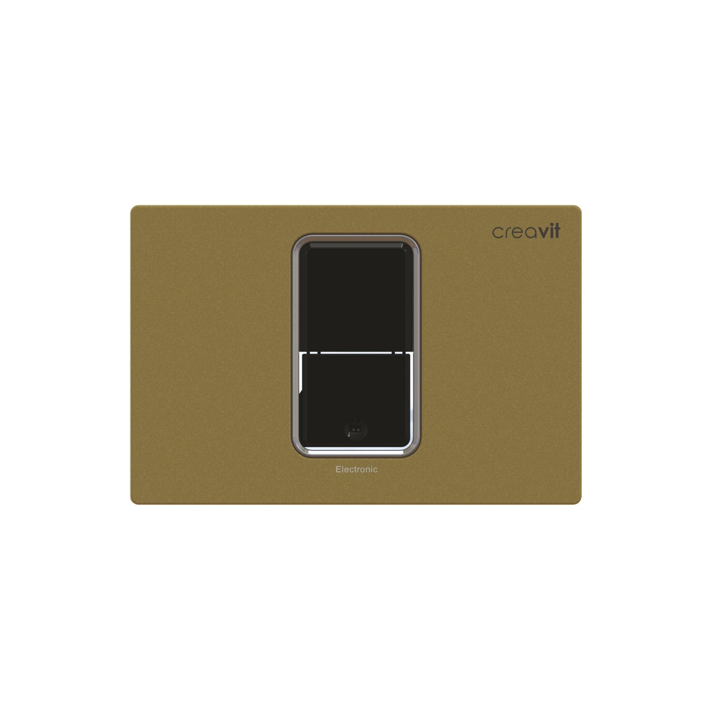 CREAVIT Кнопка для инсталляции сенсорная золото
