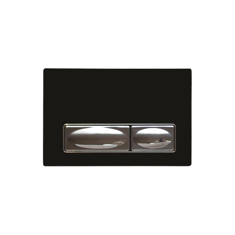 CREAVIT Кнопка для инсталляции черная стекло