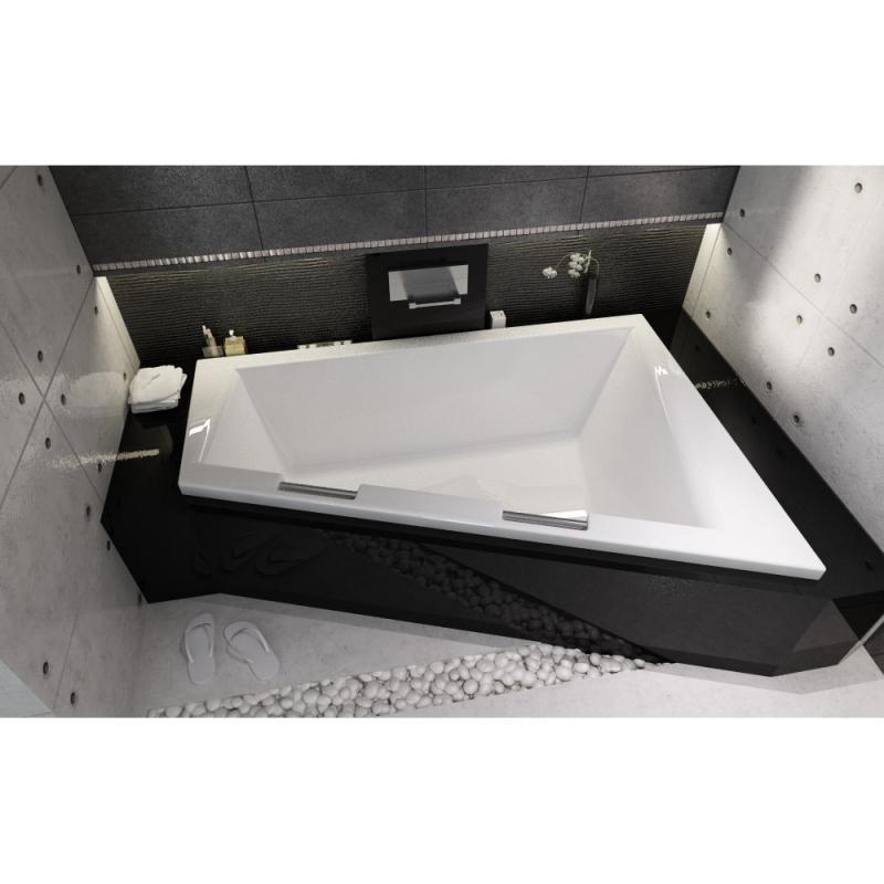 Асимметричная ванна Riho Doppio 180x130 L без гидромассажа BA9100500000000