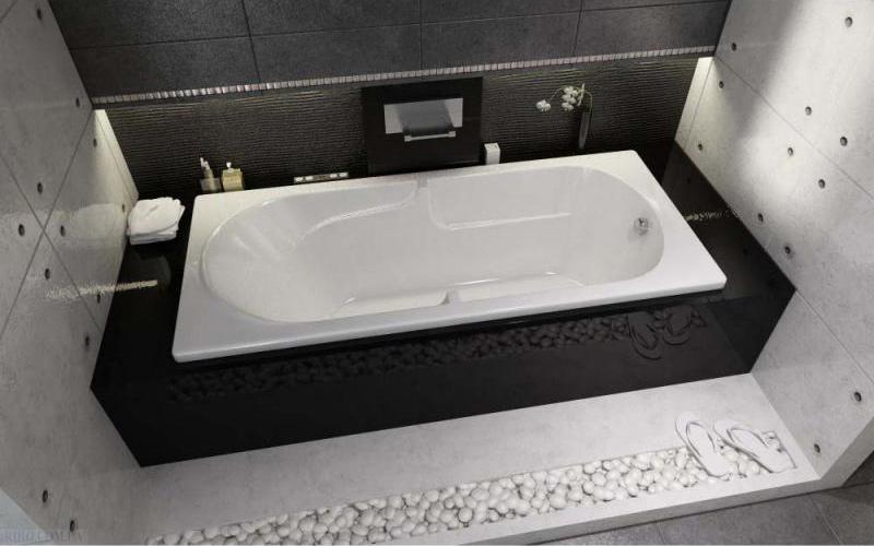 Прямоугольная ванна Riho Future 170x75 без гидромассажа BC2800500000000