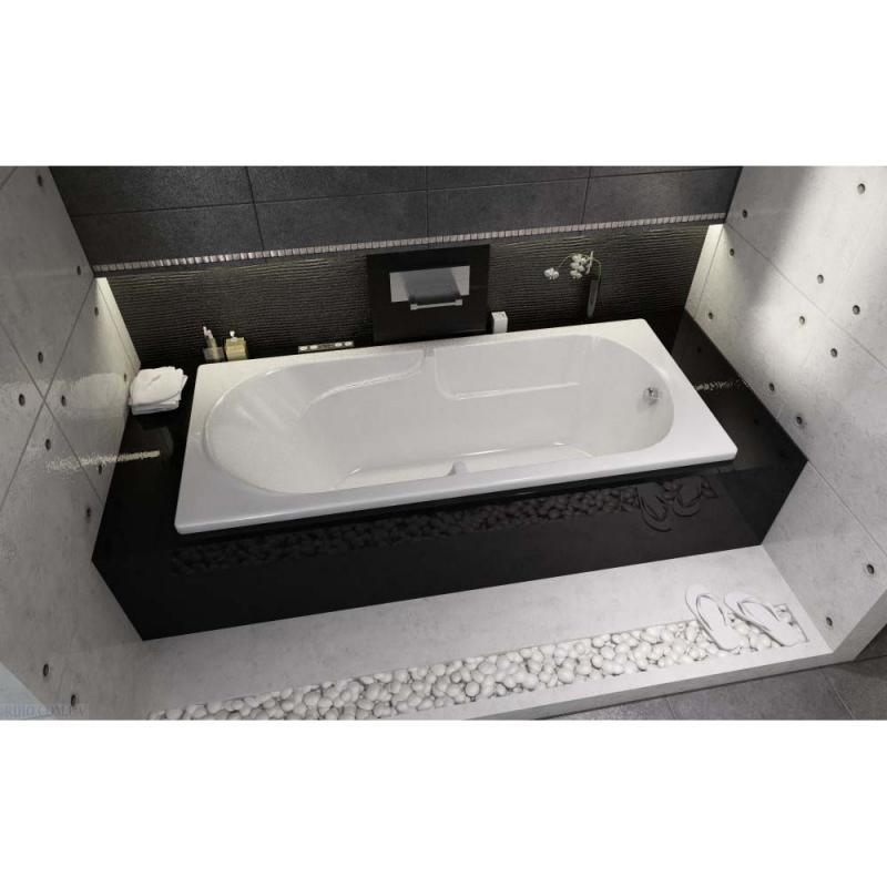 Прямоугольная ванна Riho Future 180x80 без гидромассажа BC3100500000000