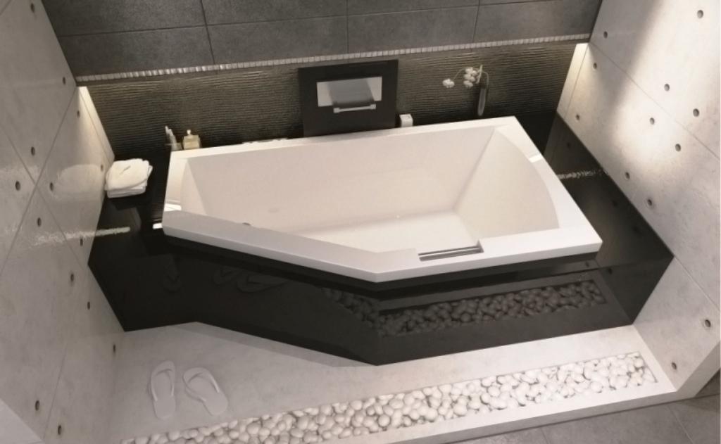 Асимметричная ванна Riho Geta 170x90 L левая без гидромассажа BA8900500000000