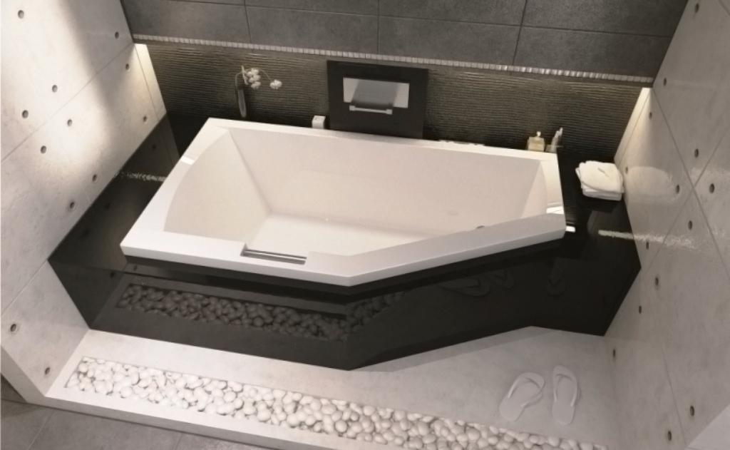 Асимметричная ванна Riho Geta 170x90 R правая без гидромассажа BA8800500000000