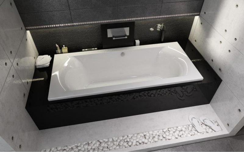 Прямоугольная ванна Riho Lima 180x80 R без гидромассажа BB4600500000000