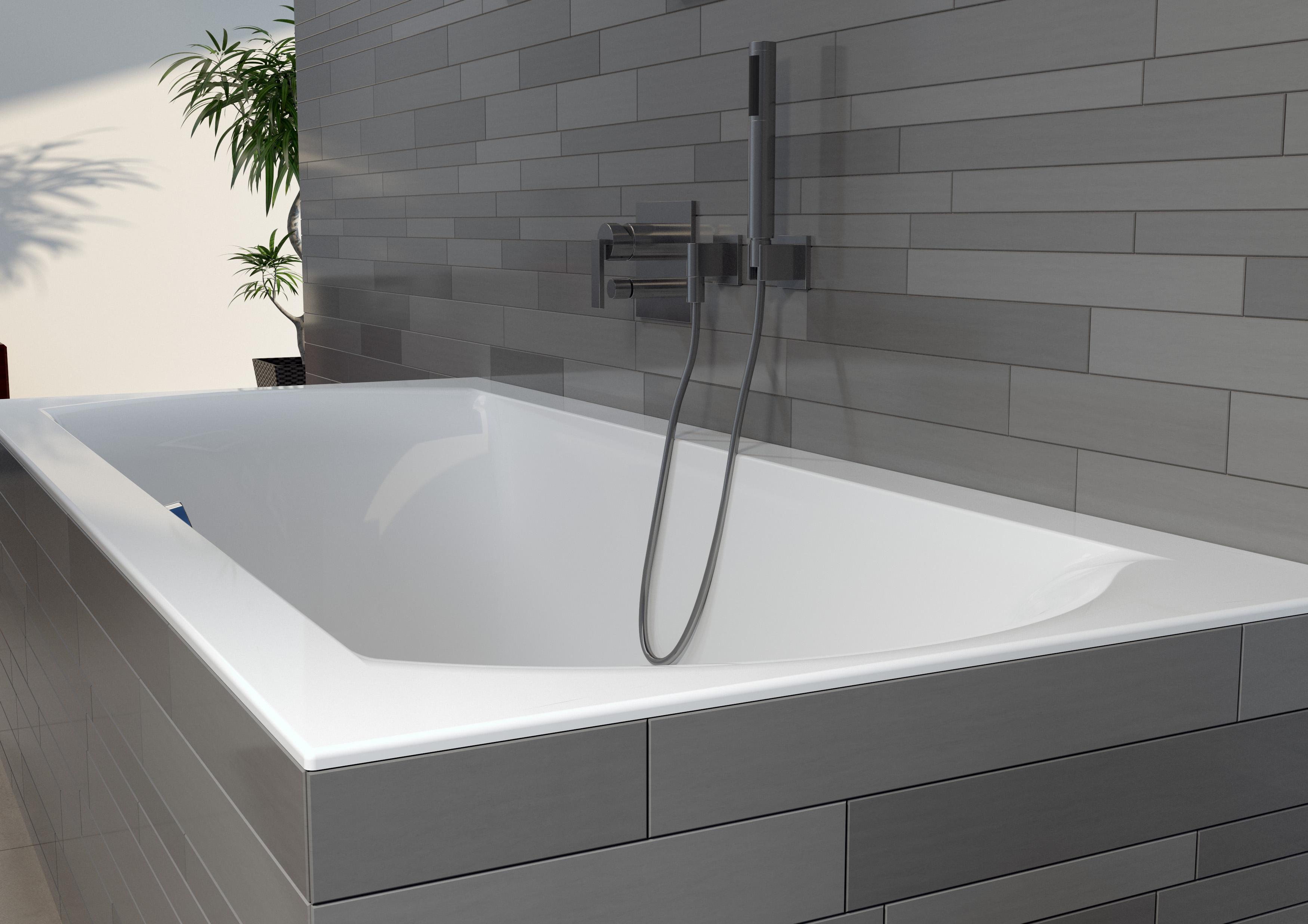 Прямоугольная ванна Riho Linares 170x75 R без гидромассажа BT4400500000000