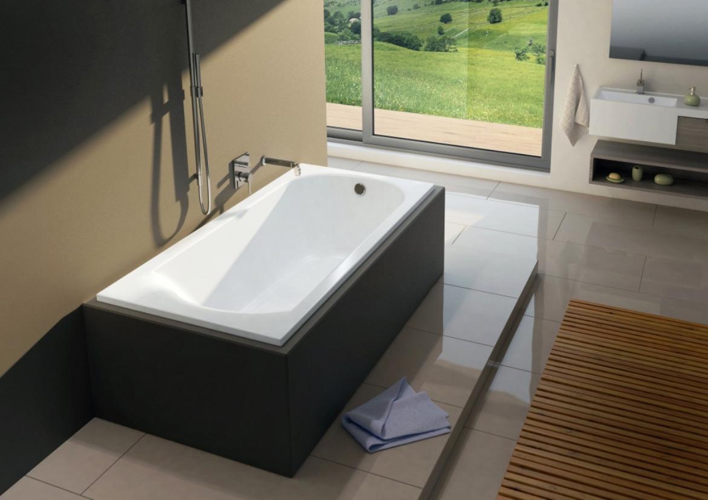 Прямоугольная ванна Riho Miami 170x70 без гидромассажа BB6200500000000