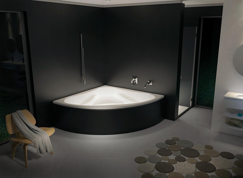 Угловая ванна Riho Neo 150x150 без гидромассажа BC3500500000000